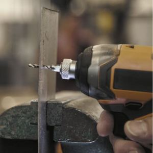 How to Use a Combination Drill and Tap on sheet metal