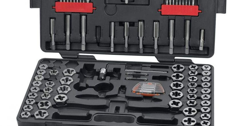 GEARWRENCH Ratcheting 114 Pc. Tap and Die Set