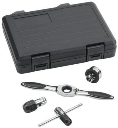 GEARWRENCH Ratcheting 5 Piece Tap and Die Drive Handle Set, 3880