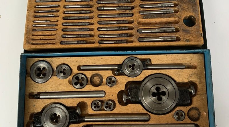 HSS tap and die set