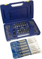 IRWIN Tools Tap and Die 116 Pc. Deluxe Set