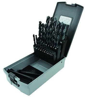 MORSE Cutting Tools Jobber Length HSS METRIC Drill 25 Pc. Set, 18107
