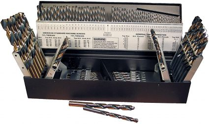 Viking 115 Piece Premium Grade 135 Degree HSS Split Point Combo Drill Set