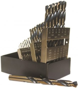 Viking Drill and Tool 29 Piece Fractional HSS Premium Drill Set