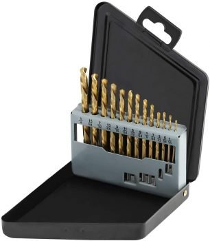 COMOWARE Left Hand Drill Bit Set, 13 Piece