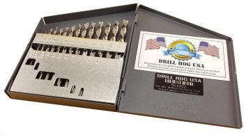 Drill Hog 13 Pc NIOBIUM Left Hand Drill Bit Set