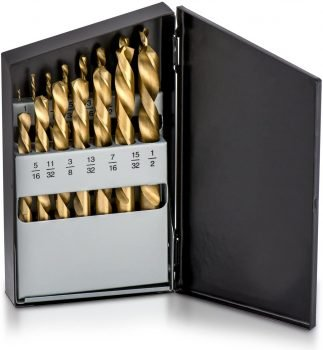 Neiko 10037A 15 Piece Left Hand Drill Bit Set