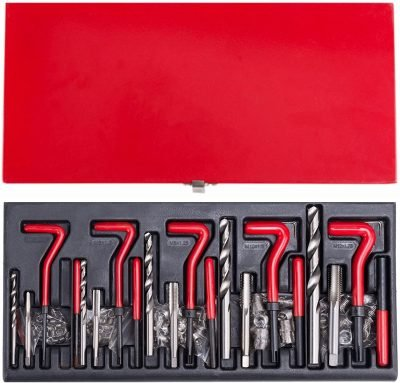 CO-Z 131 pc Stripped Thread Repair Kit, Recoil (Helicoil)